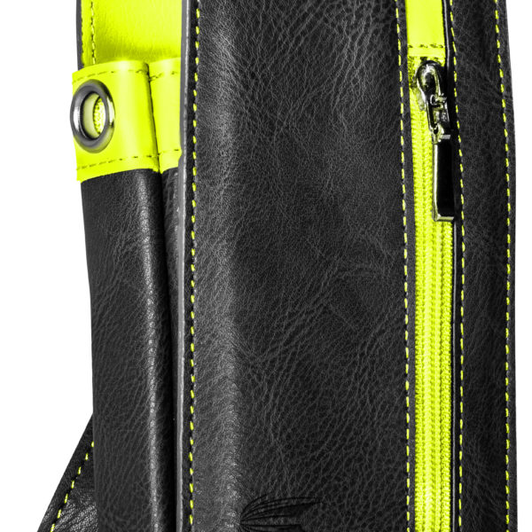 Daytona Wallet Black & Yellow 125760 Front