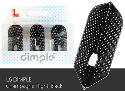 L-Style-Dimple-Champagne-Slim-Lc6-Dart-Flight-Black