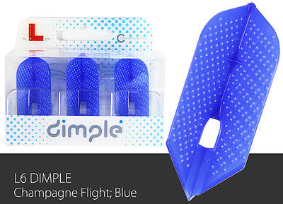 L-Style-Dimple-Champagne-Slim-Lc6-Dart-Flight-Blue