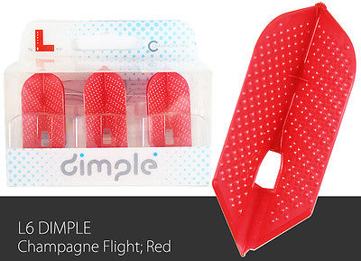 L-Style-Dimple-Champagne-Slim-Lc6-Dart-Flight-Red