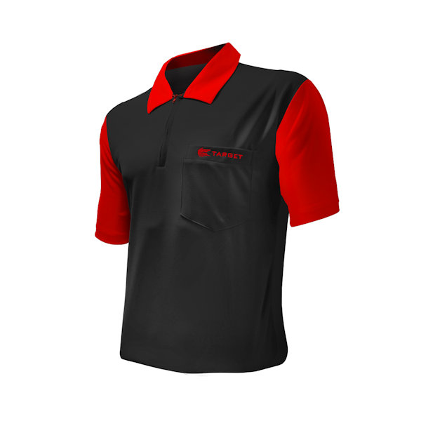 COOLPLAY 2 SHIRT BLACK & RED 129040-47