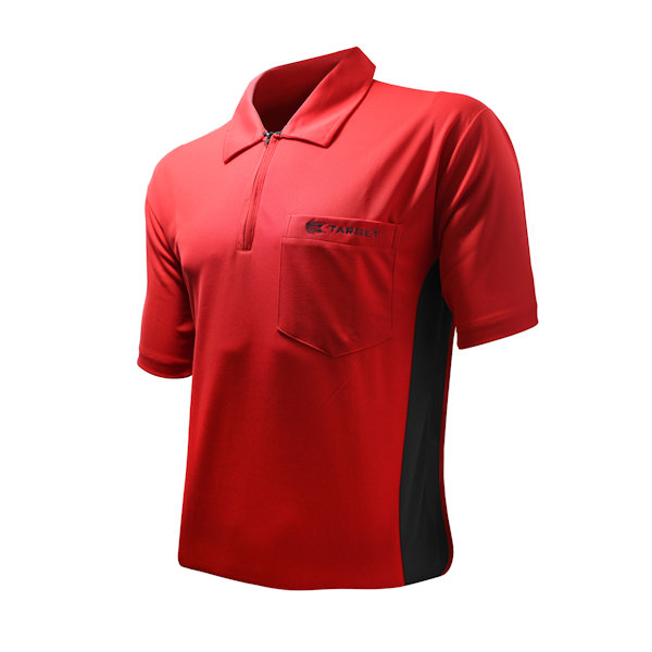 CoolPlay Hybrid Red Black Shirt