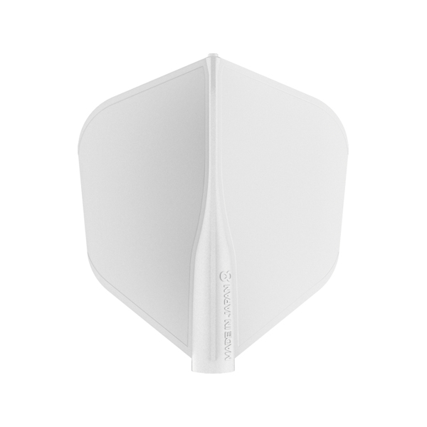 400001 8 FLIGHT WHITE SHAPE – FLAT