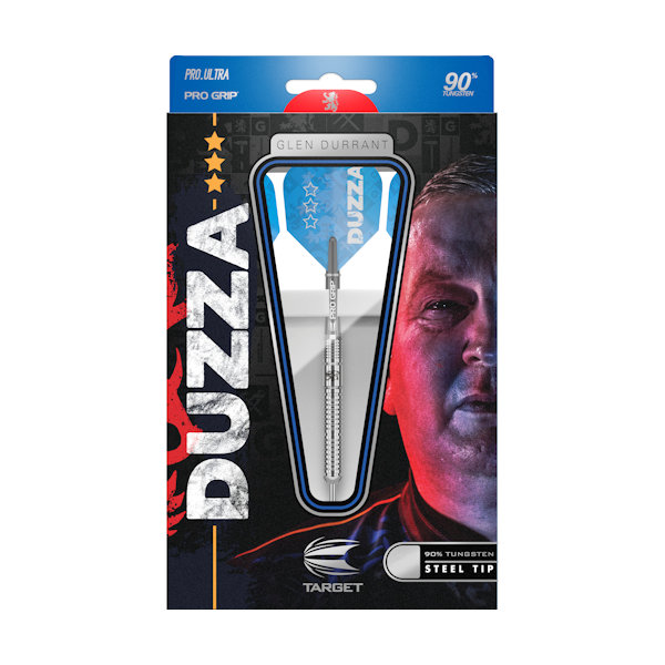 GLEN DURRANT 90% STEEL TIP DARTS 2019 PACKAGING