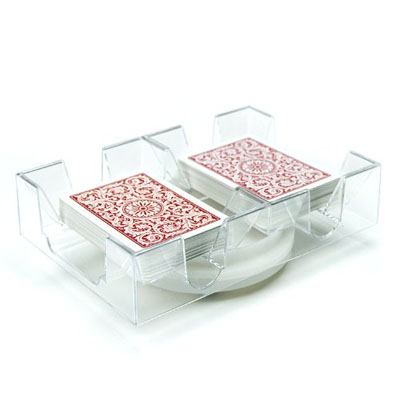 Revolving Card Holder (2) decks