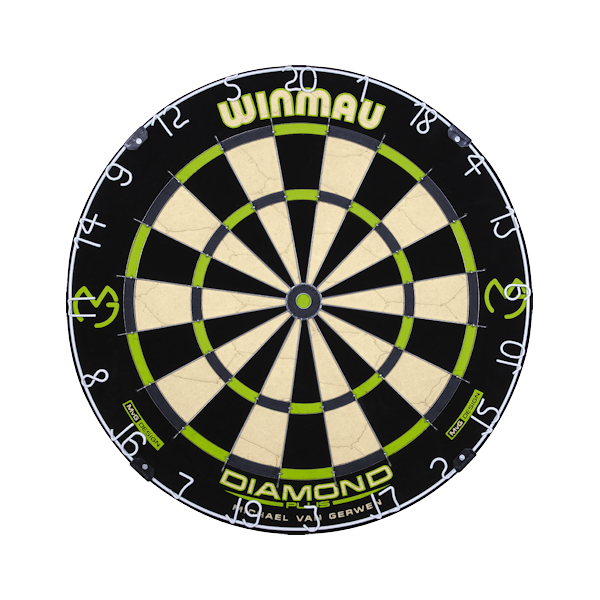 3014 - MvG Diamond Dartboard