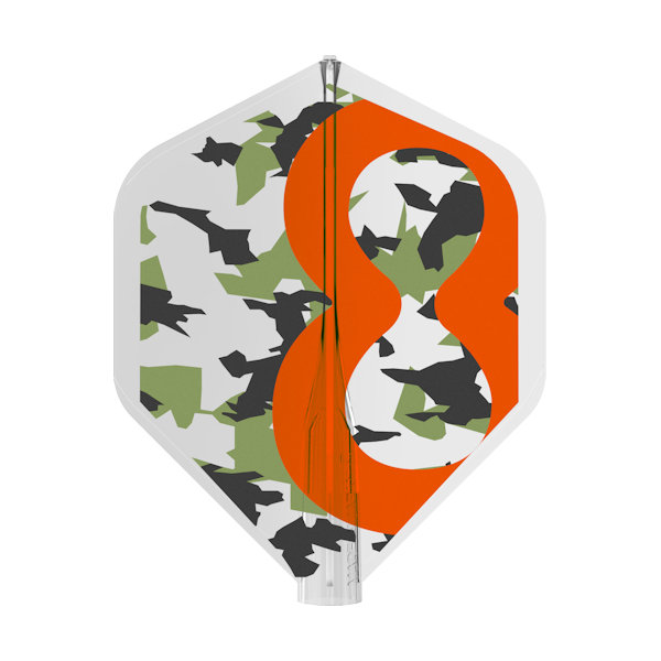 400039 8 FLIGHT NO2 STANDARD RVB CAMO PRINT BOXED 2019 - FLAT