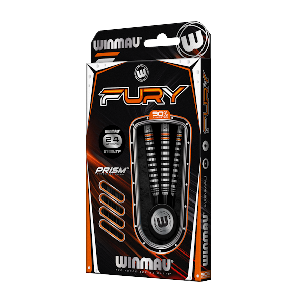 Fury 24g - darts box